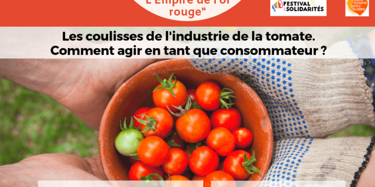 """Behind the scenes of the tomato industry. How to act as a consumer."""