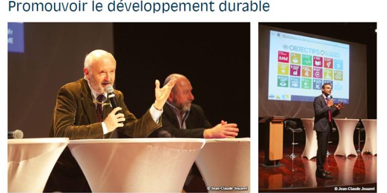 Promoting sustainable development