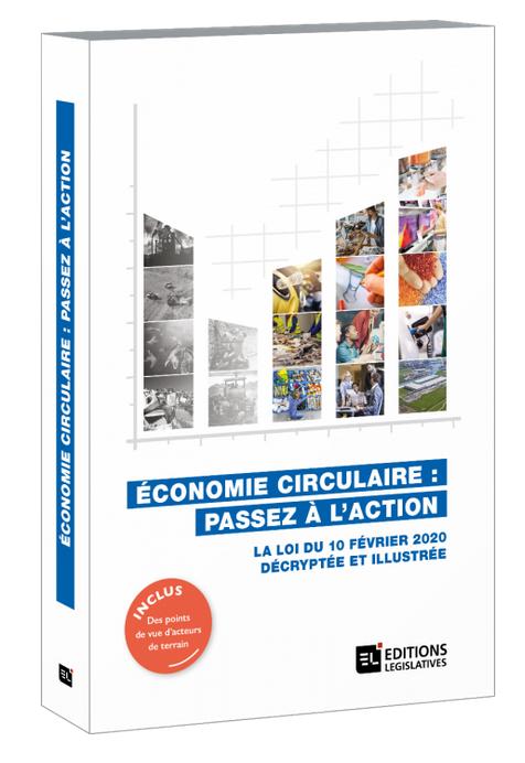Couverture livre Economie circulaire - Editions Législatives