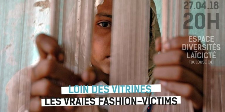 """Film-debate """"Far from the shop windows, the real fashion-victims"""""""
