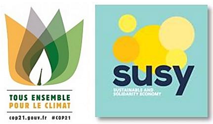 Logos COP21 et SUZY
