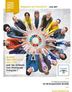 """Discover the report """"Appropriation of SDOs by the French stakeholders"""" of Committee 21!"""